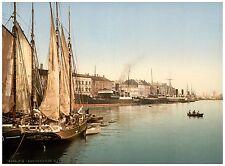 Havnegade Copenhagen Denmark ca. 1890