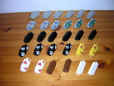 ( F10 ) LEGO Wände Mauern Ecke ohne Fenster Ritterburg 6074 6080,6085 6090 6276