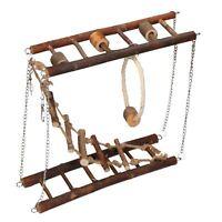 Small Animals Hamster Boredom Breaker Activity Suspension Bridge 28x9x20cm