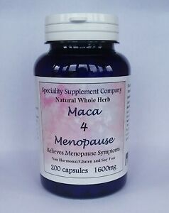 Maca4Menopause Relieves Hot Fashes, Night Sweats, Increases Libido 200 Pill Ct.