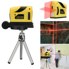 3D Laser Level Self Leveling Horizontal Vertical Point Line Cross With Tripod