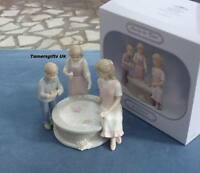 Annie Rowe Fun By The Pond Porcelain Figurine By Leonardo Collection