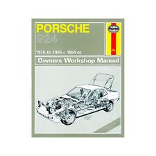 Porsche 924 924T Haynes Manual 1976-85 2.0 Petrol  Workshop
