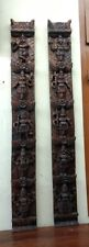 Hindu God Vishnu Avatar Dashavatar Wall Vertical Panel Pair panel Statue Decor