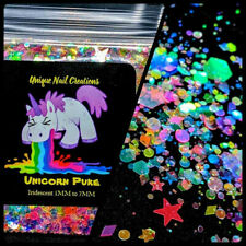 Unicorn Puke~Multi Shapes Glitter~Nail•Acrylic• Gel•Body Art•Face•Festival