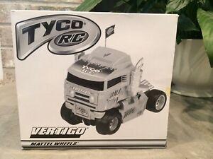 Vintage Tyco RC Semi Truck Vertigo 1999 Green Remote Control Mattel Taiyo -NEW!