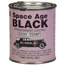 Bill Hirsch Space Age Black High-Temp Exhaust/Manifold Paint, Pint, USA #BH-SABP