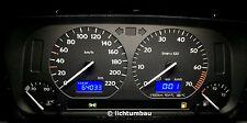 VW Golf 3 GTI Tacho MFA ab 0km/h mit Tankwarnleuchte NUR HIER Blau Rot Weiß 2.0