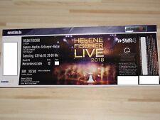 * Helene Fischer * Stuttgart Live 2018 * 1 Konzert Ticket * Samstag 03.02.18 *