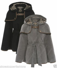 Popper Polyester Hip Length Formal Coats & Jackets for Women
