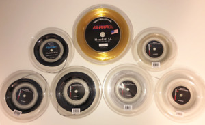 Racquetball String Reels (Lot of 7) Gearbox, Python, Ashaway - Great Deal