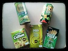 Japanese GREEN TEA Lover Snack Set [Pocky, Collon, Koala March, Pejoy, Redondo]