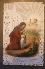 Canivet Holy card image pieuse XIX ème Bouasse Lebel