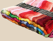 100 Colori Cotone Fili Thread Banda Ricami per Handsticken Mestiere 8 M F01