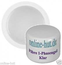 50ml fibre 1-phasengel con fiberglasgel in chiaro, Viscosità, Gel UV, NailArt