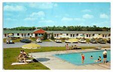 1950s The Bird's Nest Motel, Skaneateles, NY Postcard