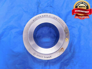 2.250 CLASS X MASTER PLAIN BORE RING GAGE ONSIZE 2 1/4 57 mm 2.2500