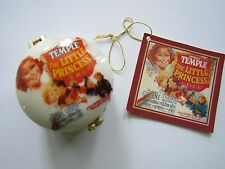 SHIRLEY TEMPLE LITTLE PRINCESS  WESTLAND GIFTWARE PORCELAIN TRINKET BOX w/ BOX
