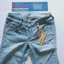 BNWT Diesel Louvely Flared Stretch W26 L36 Womens Boot Cut Denim Jeans