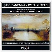 "CD PRAGA PR 256 000 Schumann; Tchaikovsky ""Romantic Piano Concertos"" Emil Gilels"