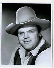 "1967 Dan Blocker Actor ""Hoss Cartwright"" Bonanza 8 x 10 Type I Original Photo"