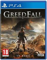 GreedFall Sony Playstation 4 PS4 Game