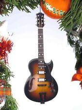 "Miniature 5"" Electric Guitar Hanging Tree Ornament OGB12BO"