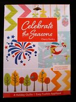 Celebrate the Seasons 4 Holiday Quilts by Cherry Guidry SALE BOX IMPERFECT
