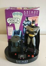 BATMAN THE ANIMATED SERIES PROJECTION TALKING ALARM CLOCK ZEON BOXED