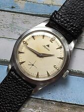 Vintage Alpina All Steel Hand-winding Mens Watch Cal. 592