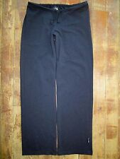 Women's prAna Breathe Small Pants Capri Yoga Black Stretch Drawstring Stretch