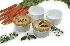 Norpro 260 Porcelain Ramekins Set Of 4 For Custard Souffles Condiments & Spreads