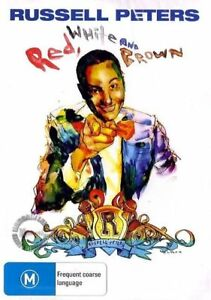 Russell Peters DVD RED, WHITE AND BROWN - STAND UP LIVE COMEDY