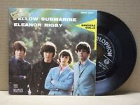 THE BEATLES - YELLOW SUBMARINE - 45 RPM - PARLOPHON 1966