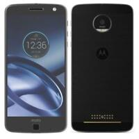 Motorola Moto Z XT-1650 32GB (GSM Verizon Factory Unlocked,4G Smartphone - Black