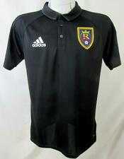 Real Salt Lake Mens Medium Short Sleeve Climalite Polo Shirt RSL 6