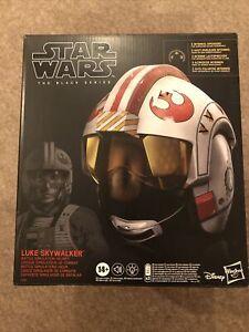 Hasbro Star Wars The Black Series Luke Skywalker Battle Simulation Helmet