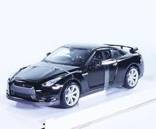 TC36 Nissan GTR R35 Skyline Black 1:24 1/24 Black Diecast Model Toy Car Maisto