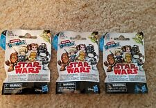 3 Star Wars Micro Force 2018 Series 1 Blind Bags,VHTF,2 Figs/pack,3 diff codes