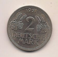 1951-G Germany Two Marks--BU Beauty--High Catalog Value !!