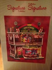 LEMAX BRAND NEW CHRISTMAS VILLAGE CANDY WORKS FACTORY Animated Candy Store!