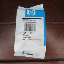 Sealed HP 75XL Tricolor Ink Cartridge made in Ireland