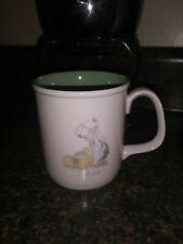Precious Moments October 1987 Enesco Collector's Coffee Mug Cup Samuel Butcher