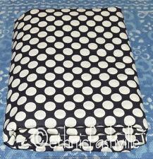 Indian Hand Block Sanganeri Print Fabric Black Dot Sewing Material Craft 3 Yard