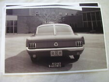 1964 FORD MUSTANG REAR SPLIT WINDOW CONCEPT DESIGN  11 X 17  PHOTO PICTURE