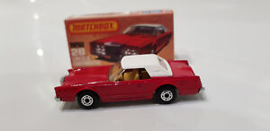 Matchbox Superfast No 28 Lincoln Continental OLD NEW SHOP STOCK !