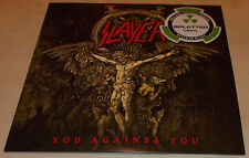 "SLAYER-YOU AGAINST YOU-2016 RED/WHITE SPLATTER VINYL 7""-LTD TO 500 ONLY-NEW"