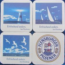 Bierdeckel Serie Flensburg Flensburger Brauerei - 3 verschiedene