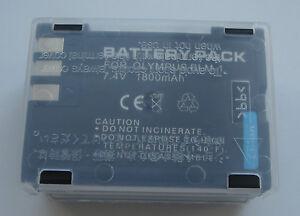Batterie BLM-1 BLM1 3.7V 1800mAh pour Olympus NEUVE en France