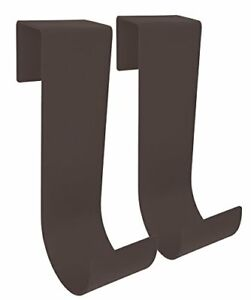 MIDE Products 1-10-BRZ Slip-on Fence Hooks Pair Bronze
